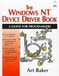 Windows NT Device Driver Book; A Guide for Programmers, with Disk with Cdrom