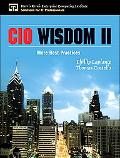 CIO Wisdom II More Best Practices