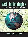 Web Technologies A Computer Science Prespective