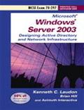 Designing A Microsoft Windows Server 2003 Active Directory And Network Infrastructure Exam 7...