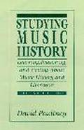 Studying Music History Learning, Reasoning, and Writing About Music History and Literature