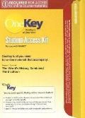 OneKey WebCT, Student Access Kit, The World's History: Combined Volume