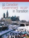 Canadian Government in Transition (Canadian) - Robert J. Jackson - Paperback