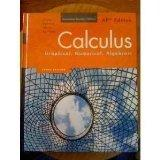 Calculus: Graphical, Numerical, Algebraic, Annotated Teacher's Edition