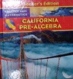 Pre Algebra (CA) (TE)