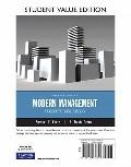 Modern Management: Concepts and Skills, Student Value Edition (12th Edition)