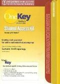 Onekey Student Access Kit : Cultural Anthrolpology