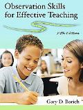 Observation Skills for Effective Teaching (5th Edition)