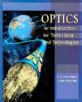 Optics An Introduction for Technicians and Technologists