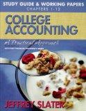 College Accounting: Study Guide & Working Papers 1-12 (Chapters 1-12)