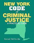 New York Code of Criminal Justice