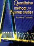 Quantitative Methods F/business Studies