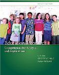 Education Research: Competencies for Analysis and Applications Text only