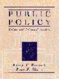 Public Policy Crime+criminal Justice