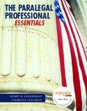 Paralegal Professional: Essentials (2nd Edition)