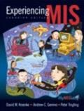 Experiencing MIS, First Canadian Edition