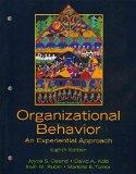 Organizational Behavior: An Experiential Approach with Organizational Behavior Reader, The (...