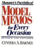 Manager's Portfolio of Model Memos for Occasion