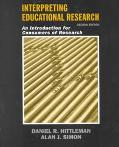Interpreting Educational Research