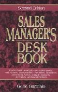 Sales Manager's Desk Book