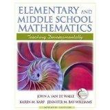 Elementary and Middle School Mathematics: Teaching Developmentally with Field Experience Gui...