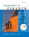 Foundations of Finance: Logic and Practice of Financial Management & MyFinance Student Acces...