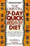 Oriental 7-Day Quick Weight-off Diet - Anthony Norvell - Paperback - Rev. ed