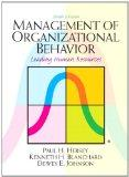 Management of Organizational Behavior (10th Edition)