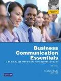 Business Communication Essentials. Courtland L. Bove, John V. Thill