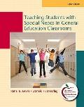 Teaching Students with Special Needs in General Education Classrooms, Student Value Edition