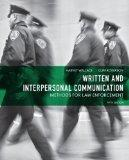 Written and Interpersonal Communication: Methods for Law Enforcement (5th Edition)