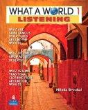 What a World Listening 1: Amazing Stories from Around the Globe (Student Book and Classroom ...