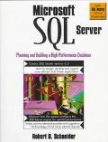 Microsoft SQL Server: Planning and Building High Performance - Robert D. Schneider - Paperback
