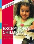 Exceptional Children: An Introduction to Special Education, Student Value Edition (9th Edition)
