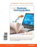 Excellence in Business Communication, Student Value Edition (10th Edition)