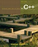 Problem Solving with C++ plus MyProgrammingLab with Pearson eText -- Access Card Package (8t...