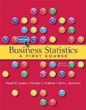 Business Statistics (6th Edition)