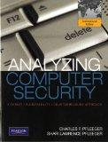 Analyzing Computer Security: A Threat / Vulnerability / Countermeasure Approach: Internation...