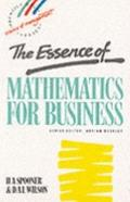 Essence of Mathematics for Business - Ann Spooner - Paperback