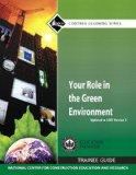 New NCCERConnect with Pearson Etext -- Trainee Access Card -- for Your Role in the Green Env...