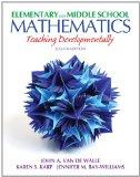 Elementary and Middle School Mathematics: Teaching Developmentally Plus MyEducationLab with ...