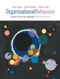 Organizational Behaviour: Concepts, Controversies, Applications, Sixth Canadian Edition with...