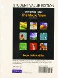Student Value Edition for Economics Today: The Micro View Plus NEW MyEconLab with Pearson eT...