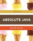 Absolute Java plus MyProgrammingLab with Pearson eText -- Access Card Package (5th Edition)