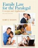 Family Law for the Paralegal: Concepts and Applications Plus NEW MyLegalStudiesLab and Virtu...