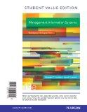 Management Information Systems, Student Value Edition (13th Edition)