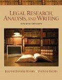 Legal Research, Analysis, and Writing Plus NEW MyLegalStudiesLab Virtual Law Office Experien...