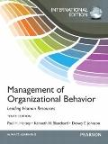 Management of Organizational Behavior : International Edition