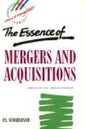 Essence of Mergers+aquisitions