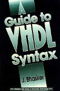 Guide to Vhdl Syntax Based on the New IEEE Std 1076-1993